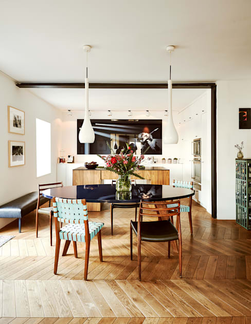 Dining room by BUERO PHILIPP MOELLER