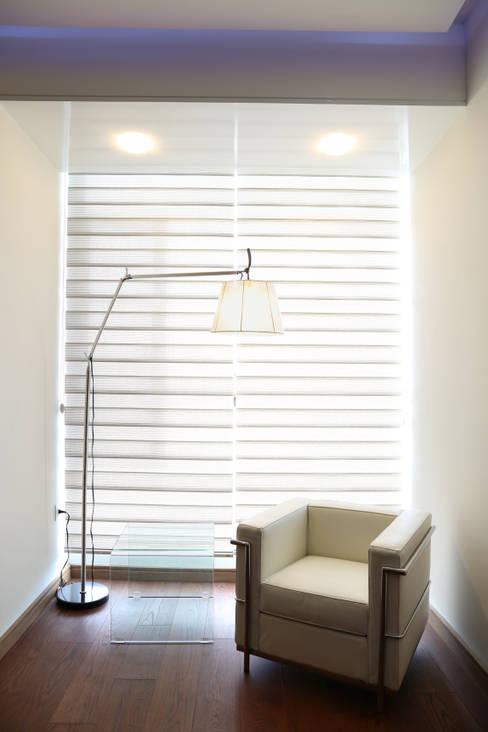 ห้องทำงาน/อ่านหนังสือ by arketipo-taller de arquitectura