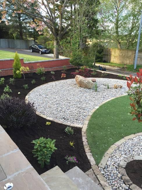 Anne Macfie Garden Designが手掛けた庭