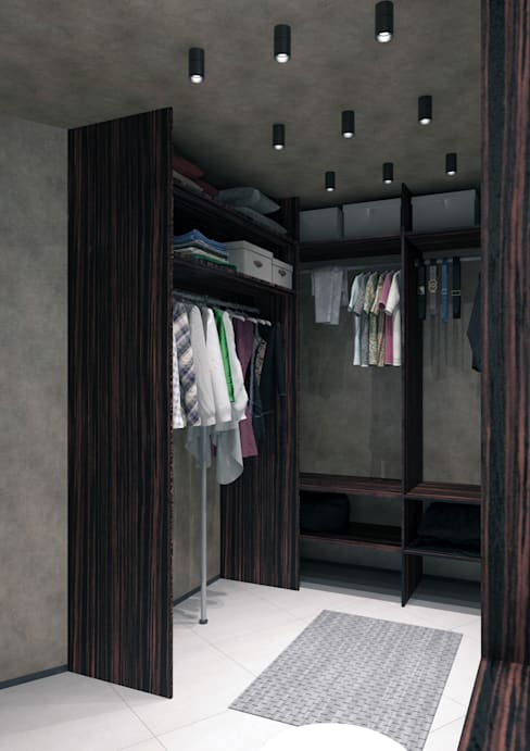 Dressing room by QUADRUM STUDIO