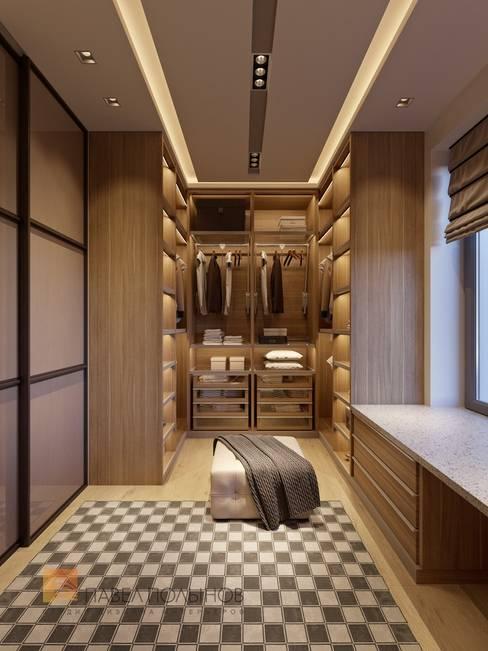 Dressing room by Студия Павла Полынова