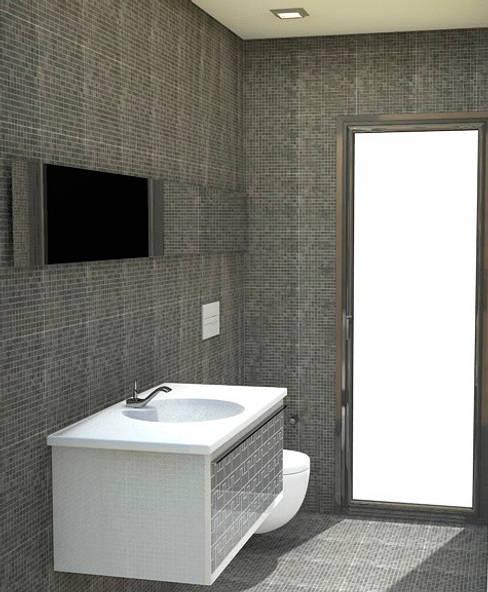 Bathroom by NUÑO ARQUITECTURA