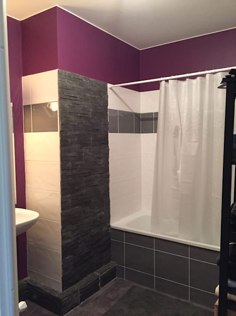 Ванные комнаты в . Автор – Mint Design