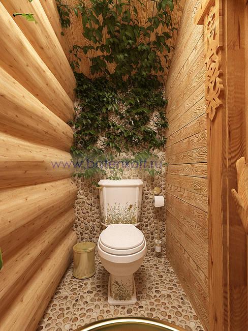 Дизайн студия 'Дизайнер интерьера № 1'が手掛けた浴室