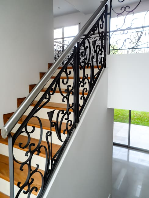 غرفة المعيشة تنفيذ Carbone Fernandez Arquitectos