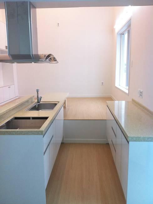 ห้องครัว by AAPA건축사사무소