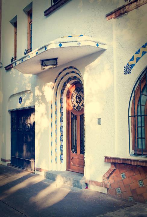 CASA EN HIPÓDROMO CONDESA: Casas de estilo  por TW/A Architectural Group