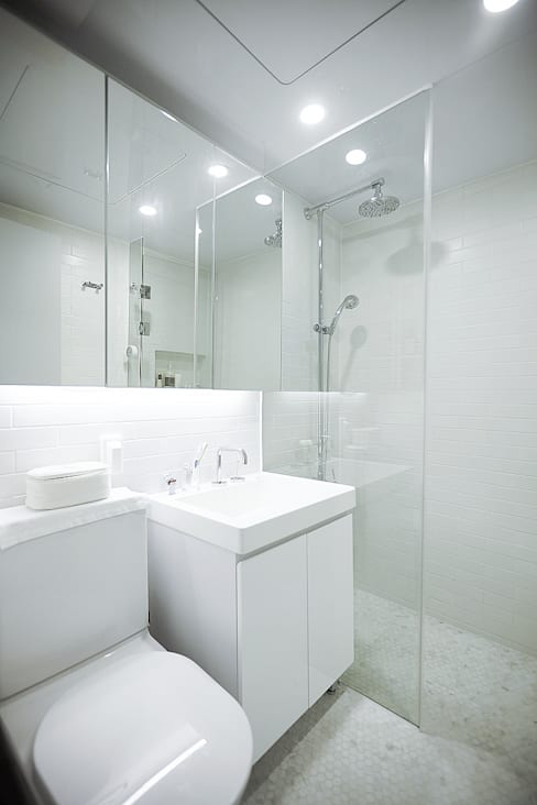 Bathroom by 샐러드보울 디자인 스튜디오