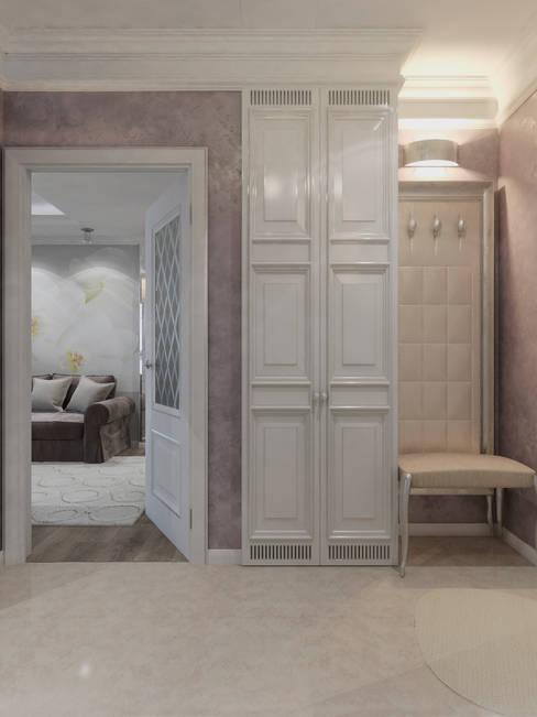 Corridor, hallway by Студия дизайна интерьера Маши Марченко