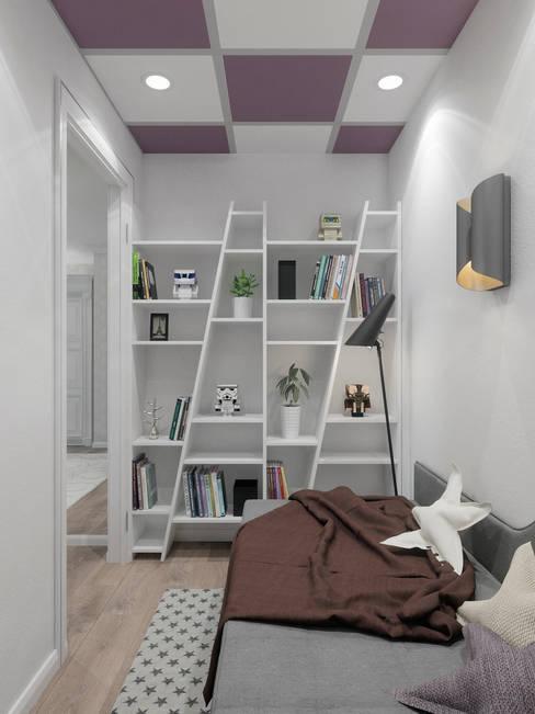 Студия дизайна интерьера Маши Марченкоが手掛けた子供部屋