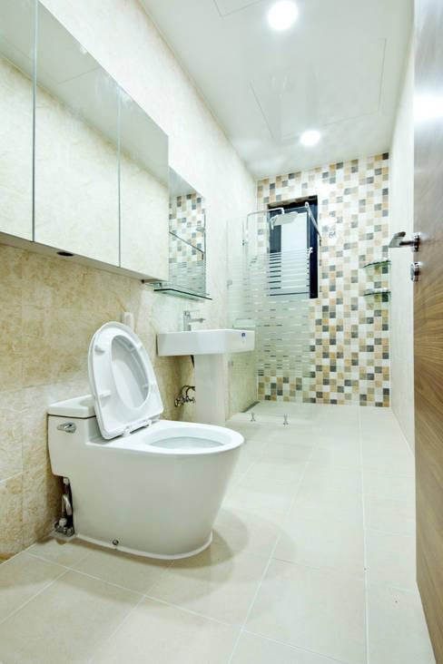 구산동 근린생활시설+주택: GongGam Urban Architecture & Construction의  욕실