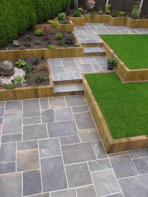 庭院 by BARTON FIELDS LANDSCAPING SUPPLIES