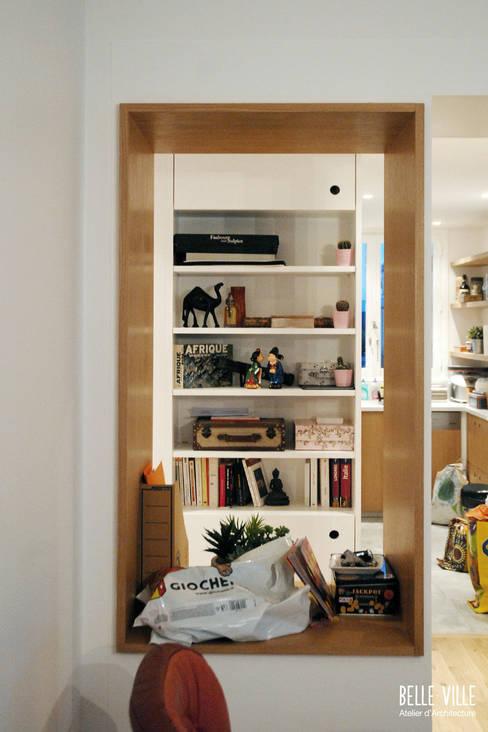 Mobilier d'entrée - Salle à manger: Salle à manger de style  par Belle Ville Atelier d'Architecture