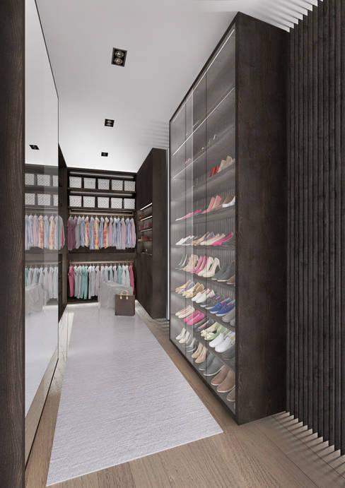 Projekty,  Garderoba zaprojektowane przez Who Cares?! Design