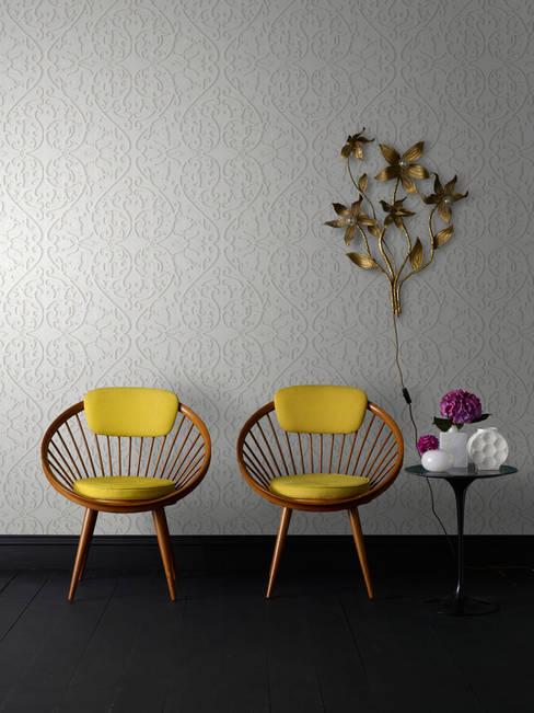 Walls & flooring by Escuadra Arquitectura C.A