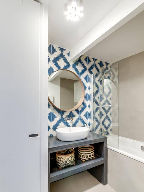 حمام تنفيذ Transition Interior Design