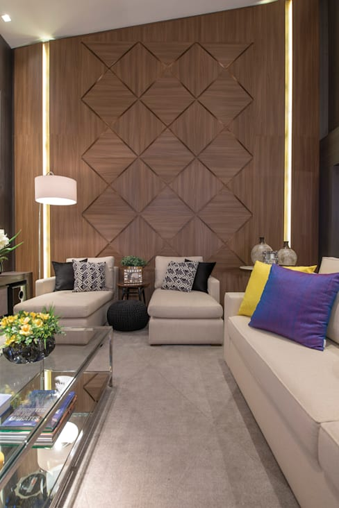 Living room by Ronald T. Pimentel Fotografia