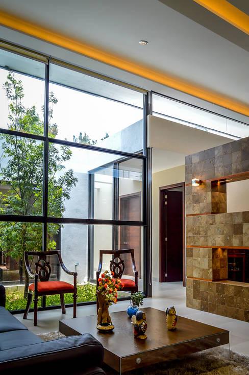 Projekty,  Salon zaprojektowane przez Wowa