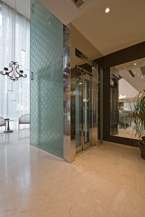 الممر والمدخل تنفيذ Chaney Architects