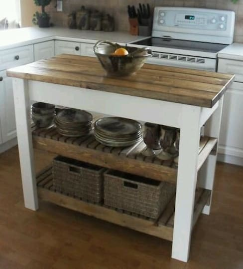 Kitchen تنفيذ Muebles Reciclados Mallorca