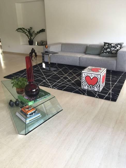 غرفة المعيشة تنفيذ THE muebles