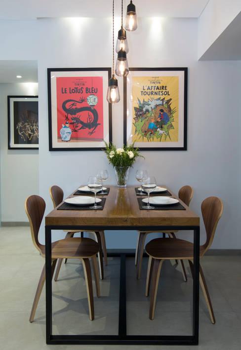 Dining room by Nitido Interior design