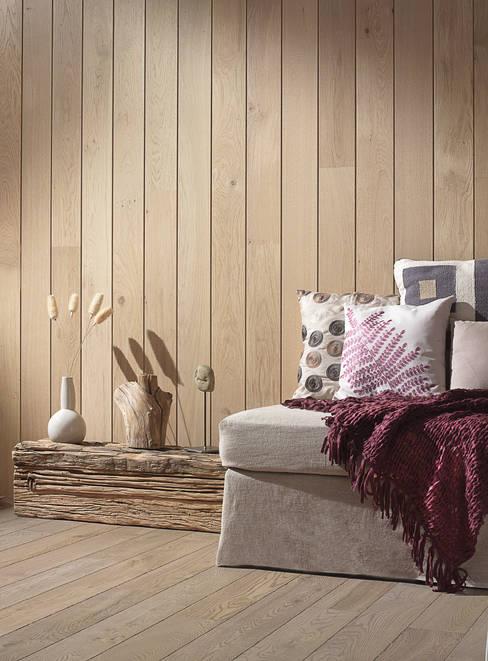 Projekty,  Ściany zaprojektowane przez Rochene Floors