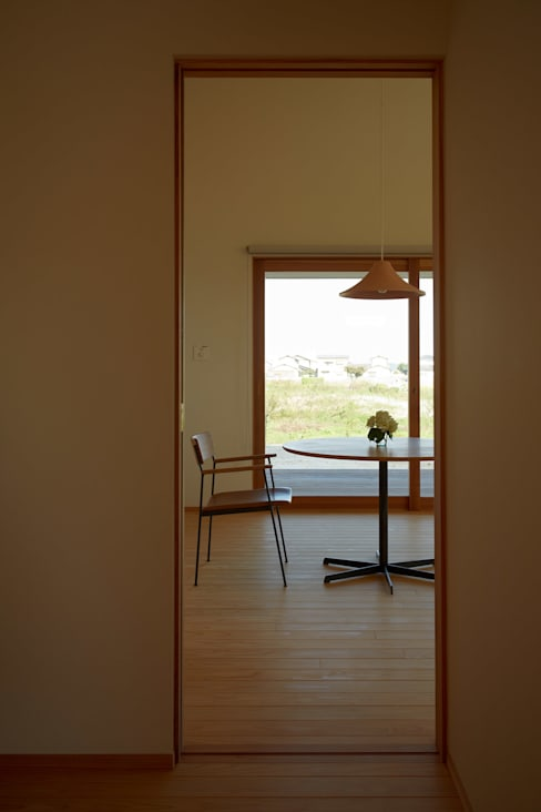 Dining room by toki Architect design office