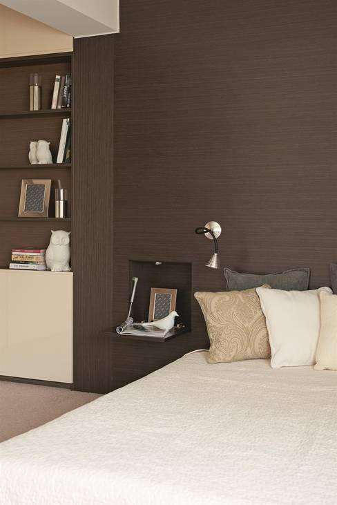 Camera da letto in stile  di MINIMOO Architektura Wnętrz