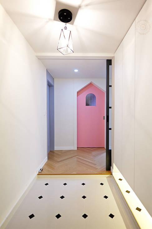 제이앤예림designが手掛けた廊下 & 玄関