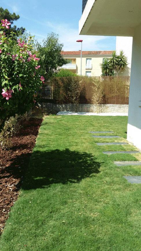 Projekty,  Ogród zaprojektowane przez Le Jardin Qui Bouge