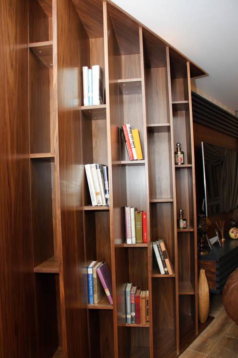 50GR Mimarlık – SERDİVAN VİLLALARI:  tarz Oturma Odası