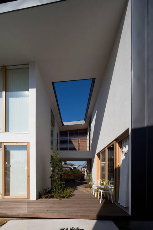 Studio R1 Architects Office의  정원