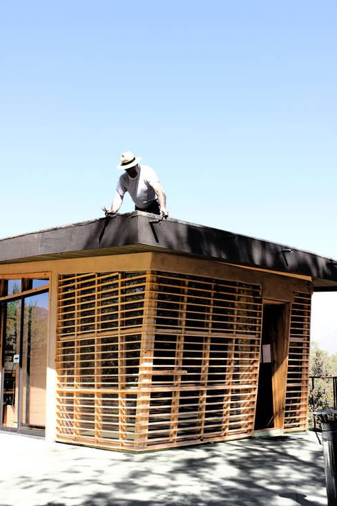 Ventanas: Ventanas de madera de estilo  por ALIWEN arquitectura & construcción sustentable - Santiago