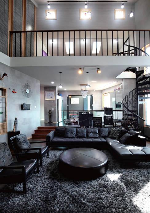 음악의집 Listen House: 꿈꾸는목수의  거실