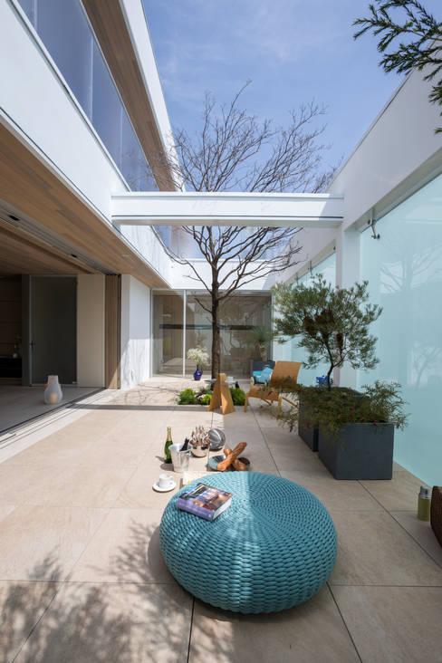Mアーキテクツ|高級邸宅 豪邸 注文住宅 別荘建築 LUXURY HOUSES | M-architects의  거실