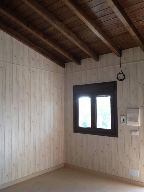 Salas de estar  por MODULAR HOME