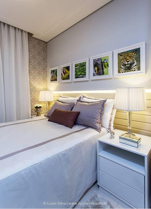 Fonseca & Burity Arquiteturaが手掛けた寝室