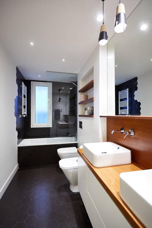 Bathroom by Dimensi-on