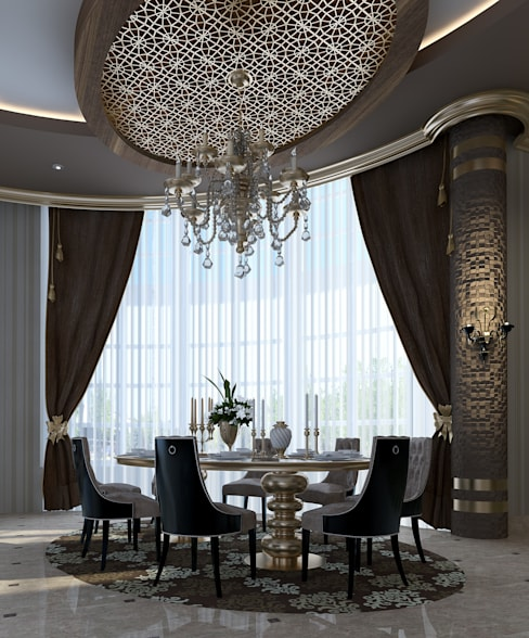 Dining room by Mimoza Mimarlık