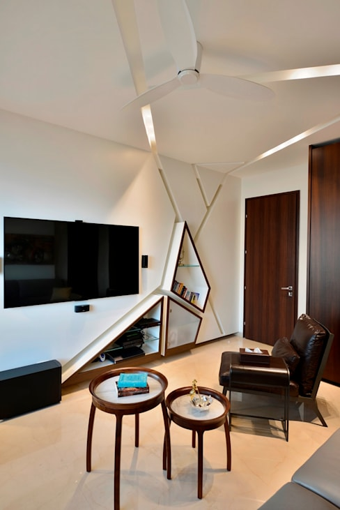 Media room by Aum Architects