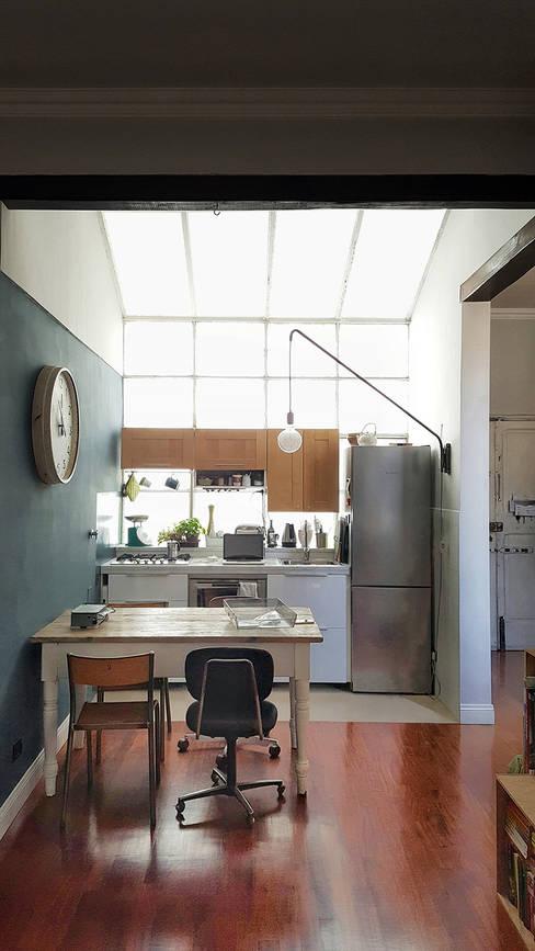 Projekty,  Kuchnia zaprojektowane przez Mohamed Keilani Architect
