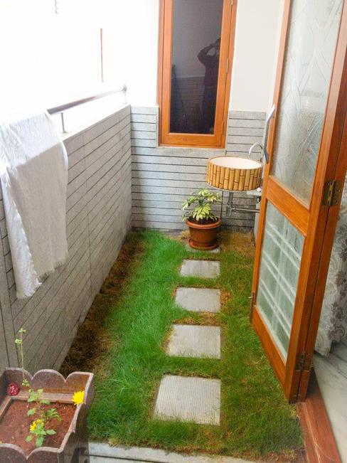 Jardines de estilo  por Urban Shaastra