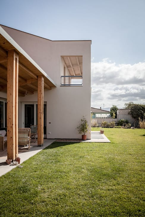 Studio di Architettura Ortu Pillola e Associatiが手掛けた庭