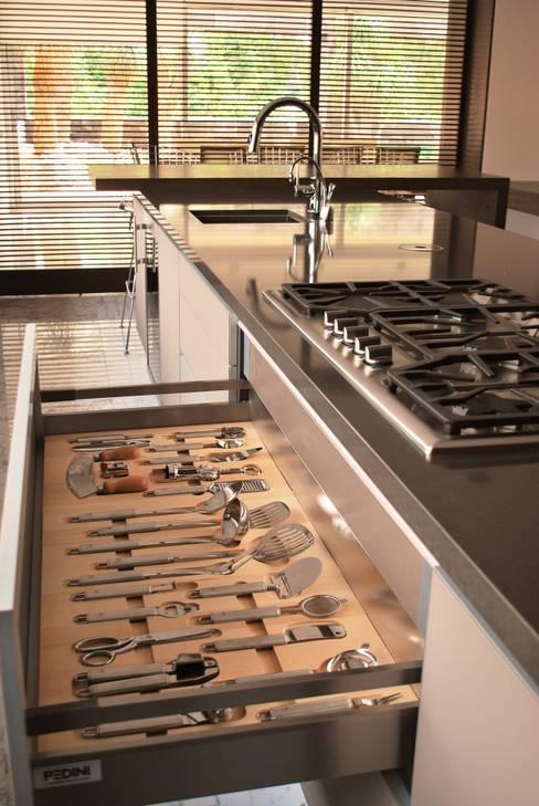 Projekty,  Kuchnia zaprojektowane przez ARTE CUCINE/ PEDINI SAN ANGEL