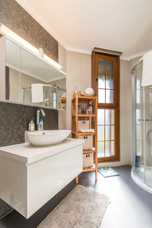 Mimode Mimarlık/Architecture – ÇEŞME VİLLA H.B.:  tarz Banyo