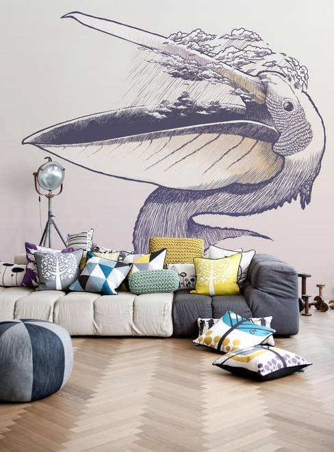 Pelican:  Living room by Pixers