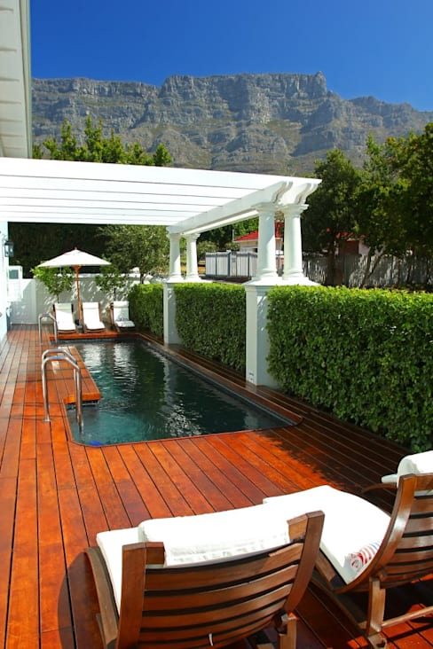 Formal hedging :  Pool by Red Daffodil
