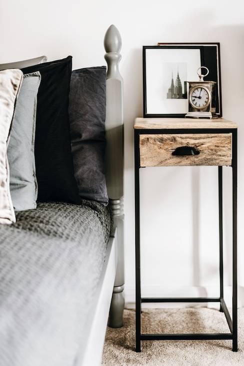 Bedroom by Katie Malik Interiors