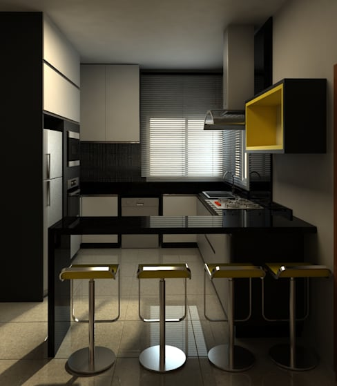 Kitchen by A&B Arquitetura